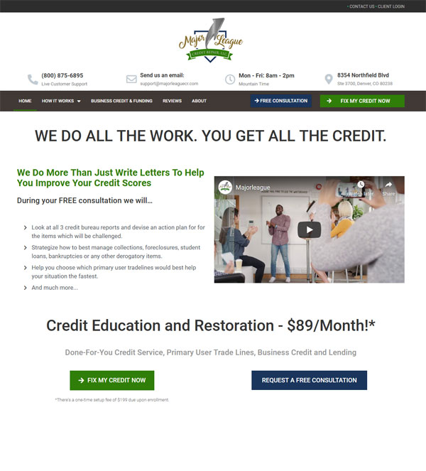 Major League Credit Repair